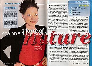 Interview with Kathleen Gati (Obrecht on General Hospital)