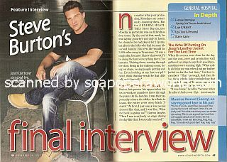 Exit Interview with Steve Burton (Jason Quartermaine on General Hospital)