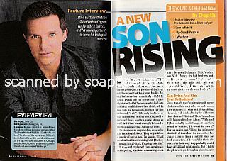 Interview with Steve Burton (Dylan on The Young and The 