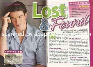 Interview with Adam Gregory (Thomas on The Bold & The Beautiful)