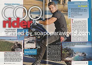 Interview with Ryan Paevey (Ryan plays the role of Nathan on General Hospital)