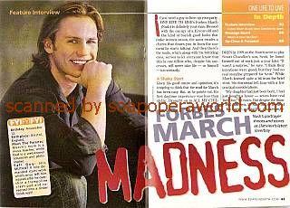 Forbes March (Nash, OLTL)