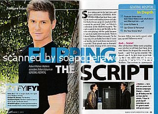 Interview with Robert Palmer Watkins (Robert plays the role of Dillon on General Hospital)