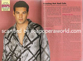 Eddie Cibrian of the NBC soap opera, Sunset Beach