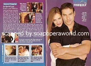 Tyler Christopher & Natalia Livingston (Nikolas & Emily, GH)