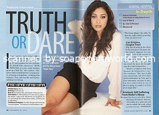Interview with Lindsey Morgan (Kristina on General Hospital)