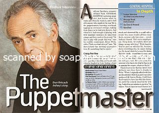 Interview with Bruce Weitz (Anthony Zacchara on General Hospital)