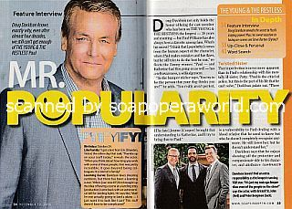 Interview with Doug Davidson (Paul on The Young and The Restless)
