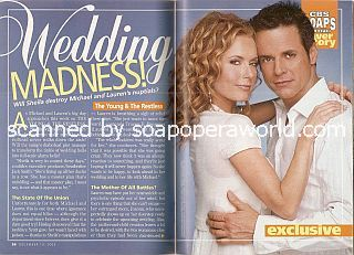 Cover Story featuring Christian LeBlanc & Tracey E. Bregman (Michael & Lauren on The Young & The Restless)