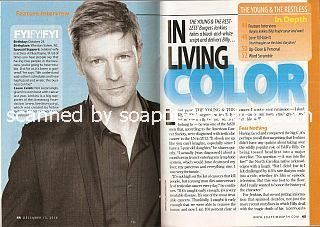 Interview with Burgess Jenkins (Billy on soap opera, The Young & The Restless)