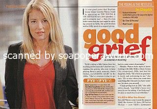 Interview with Cynthia Watros of Y&R