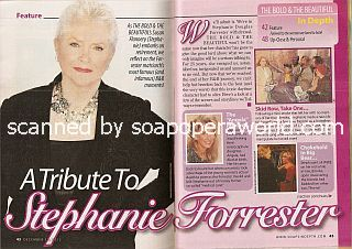 A Tribute to Stephanie Forrester (Susan Flannery of The Bold & The Beautiful)
