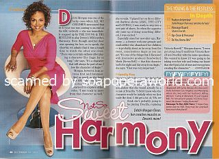 Interview with Debbi Morgan (Harmony on The Young & The Restless)