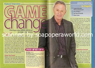 Interview with Tristan Rogers (Robert Scorpio on the soap opera, General Hospital)