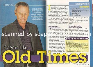 Interview with Tristan Rogers (Robert Scorpio on General Hospital)