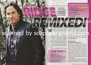 Interview with Thorsten Kaye (Ridge Forrester on The Bold and The Beautiful soap opera)