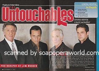 Interview with GH co-stars Stephen Macht, Maurice Benard, Bruce Weitz & Brandon Barash