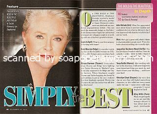 Simply The Best with Susan Flannery (Stephanie of The Bold & The Beautiful)