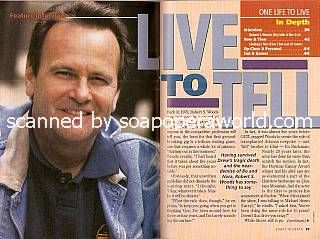 Interview with Robert S. Woods (Bo Buchanan on One Life To Live)