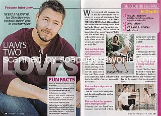 Interview with Scott Clifton (Liam on The Bold and The Beautiful)