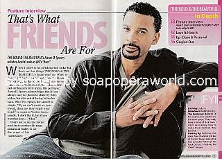Interview with Aaron D. Spears (Justin on The Bold and The Beautiful)