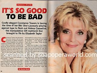 Interview with Constance Towers (Helena Cassadine on General Hospital)