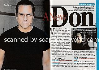 Interview with Maurice Benard (John Gotti in the Lifetime movie, Victoria Gotti:  My Father's Daughter)