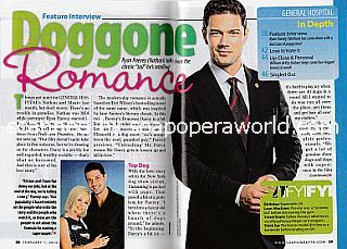 Interview with Ryan Paevey (Ryan plays Nathan on General Hospital)