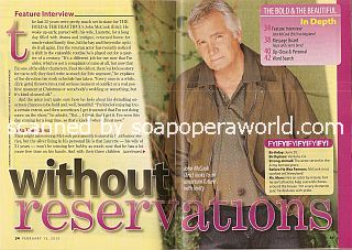 Interview with John McCook (Eric Forrester on The Bold & The Beautiful)