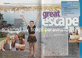 Great Escape with Lexi Ainsworth (Kristina on General Hospital)