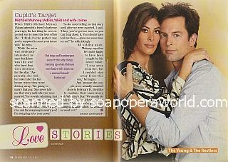 Love Stories featuring Michael Muhney of Y&R