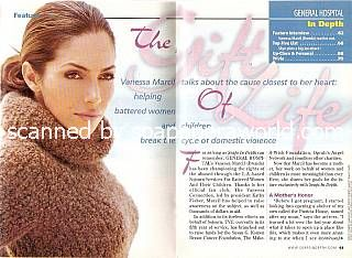 Interview with Vanessa Marcil (Brenda, GH)