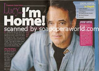 Interview with Jon Lindstrom (Kevin Collins on General Hospital)