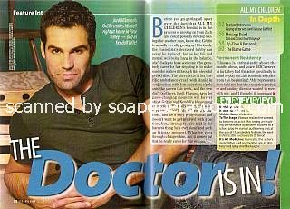 Interview with Jordi Vilasuso (Griffin on All My Children)