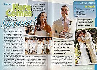 The Real-Life Wedding of Tyler Christopher (Nikolas Cassadine on General Hospital)