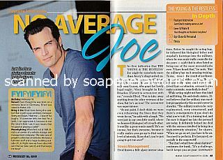 Interview with Scott Elrod (Joe on The Young and The Restless)