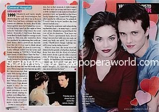Valentine's Days To Remember with Jonathan Jackson & Rebecca Herbst (Lucky and Liz on General Hospital)