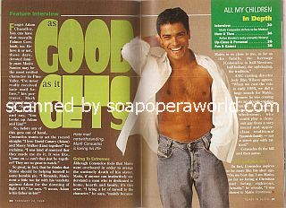 Interview with Mark Consuelos (Mateo Santos on All My Children)