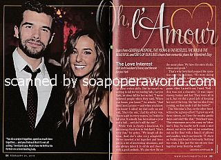 Oh, L'Amour with Josh Swickard of General Hospital and fiance, Lorynn York