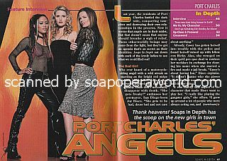 Interview with Joy Bisco, Vanessa Branch and Tamara Davies (Casey, Paige and Amy on the ABC soap opera, Port Charles)