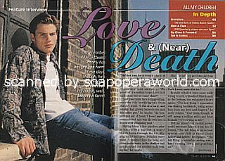 Interview with Forbes March (Scott on the ABC soap opera, All My Children)