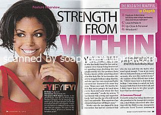 Interview with Karla Mosley  (Karla plays the transgender role of Maya on The Bold and The Beautiful)