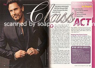 Interview with Don Diamont (Bill Spencer on soap opera, The Bold & The Beautiful)