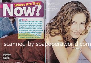 Where Are They Now? featuring Vanessa Marcil (ex-Brenda, General Hospital)