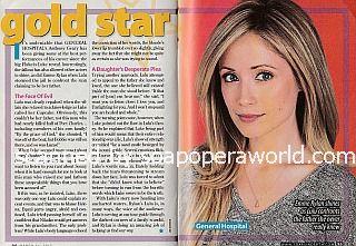 Gold Star Performer - Emme Rylan of General Hospital
