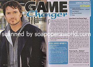 Interview with Dominic Zamprogna (Dante on the ABC soap opera, General Hospital)