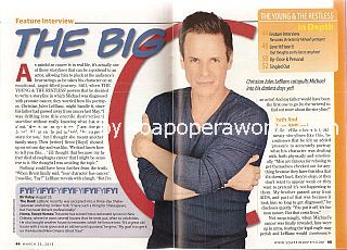 Interview with Christian LeBlanc (Michael Baldwin on CBS soap opera, The Young & The Restless)