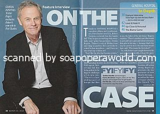 Interview with Tristan Rogers (Robert Scorpio on ABC's General Hospital)