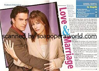 Rick Hearst & Nancy Lee Grahn (Ric & Alexis, GH)