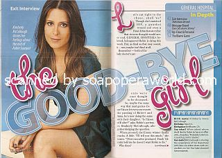 Interview with Kimberly McCullough (Robin on General Hospital)